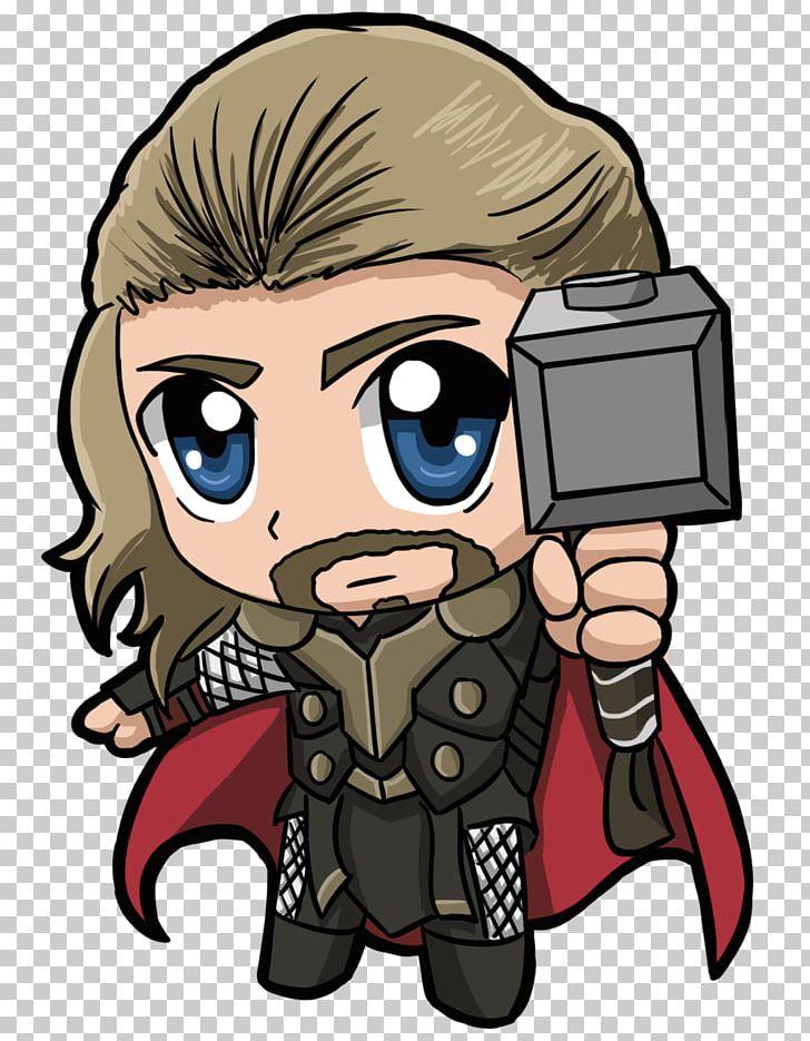 Thor chibi png.