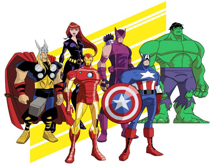 Free avengers clip art.