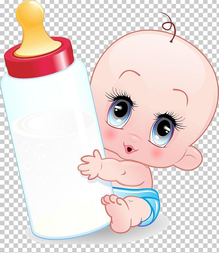 Infant cartoon baby.