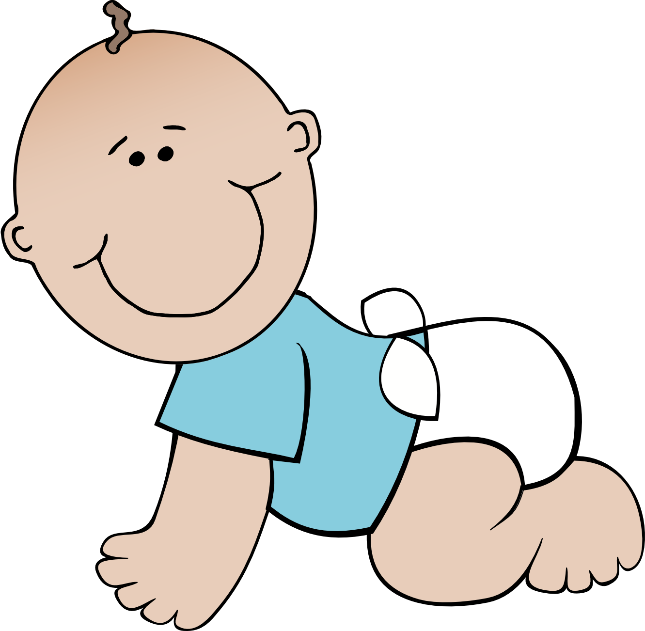 Free baby cliparts.