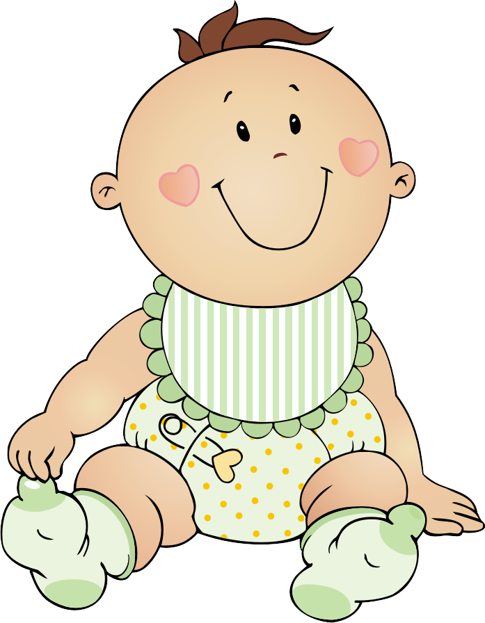 Baby christmas clipart.
