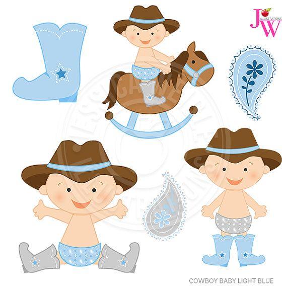 Light blue cowboy.