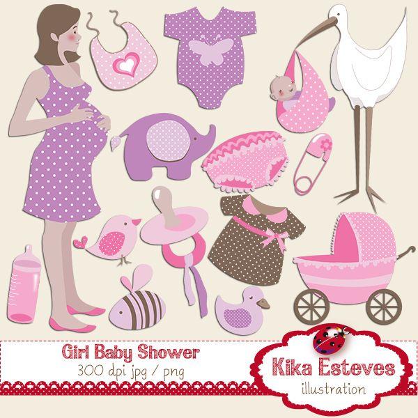 Girl baby shower.