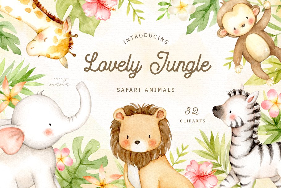 Lovely jungle safari.