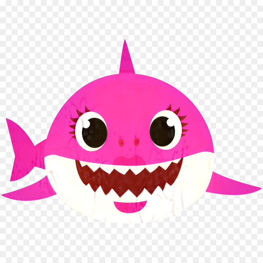 Baby shark logo.