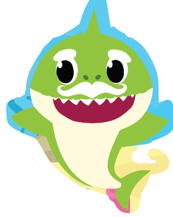 Baby Shark Daddy Shark Svg