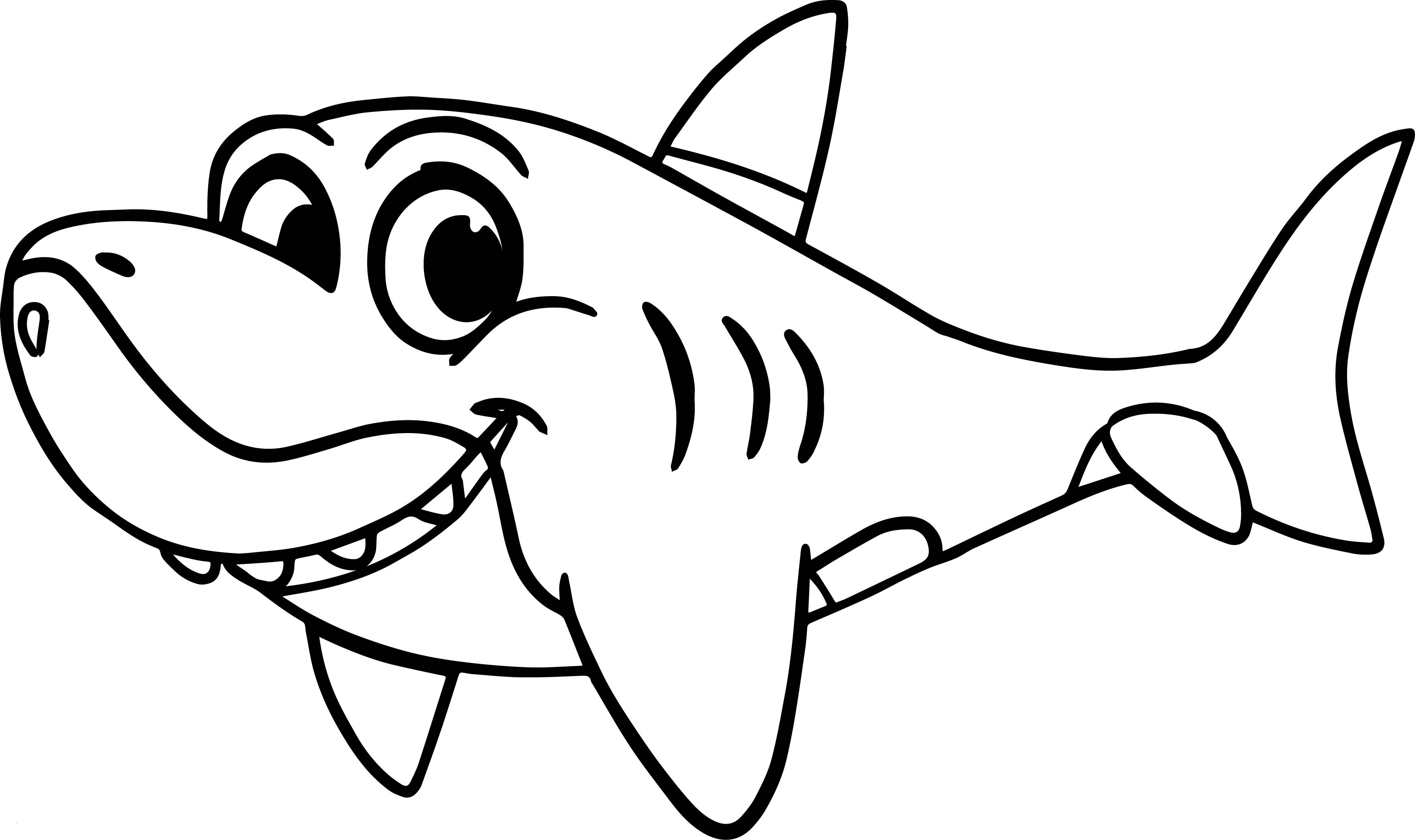 Baby shark clipart colouring pictures on Cliparts Pub 2020!