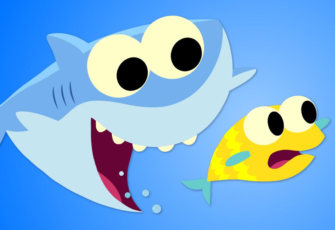 Baby shark super.