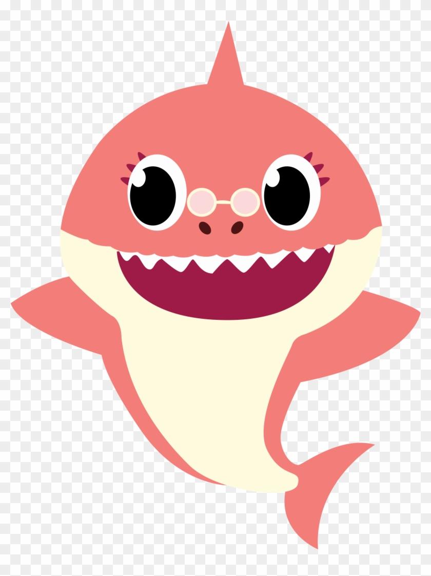 Grandma shark png.