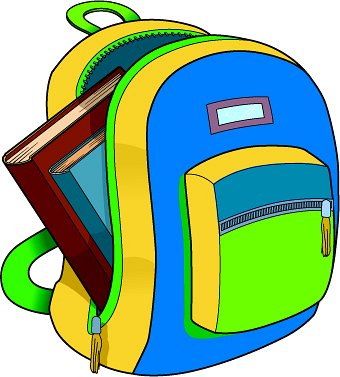 clipart pack backpack lunchbox