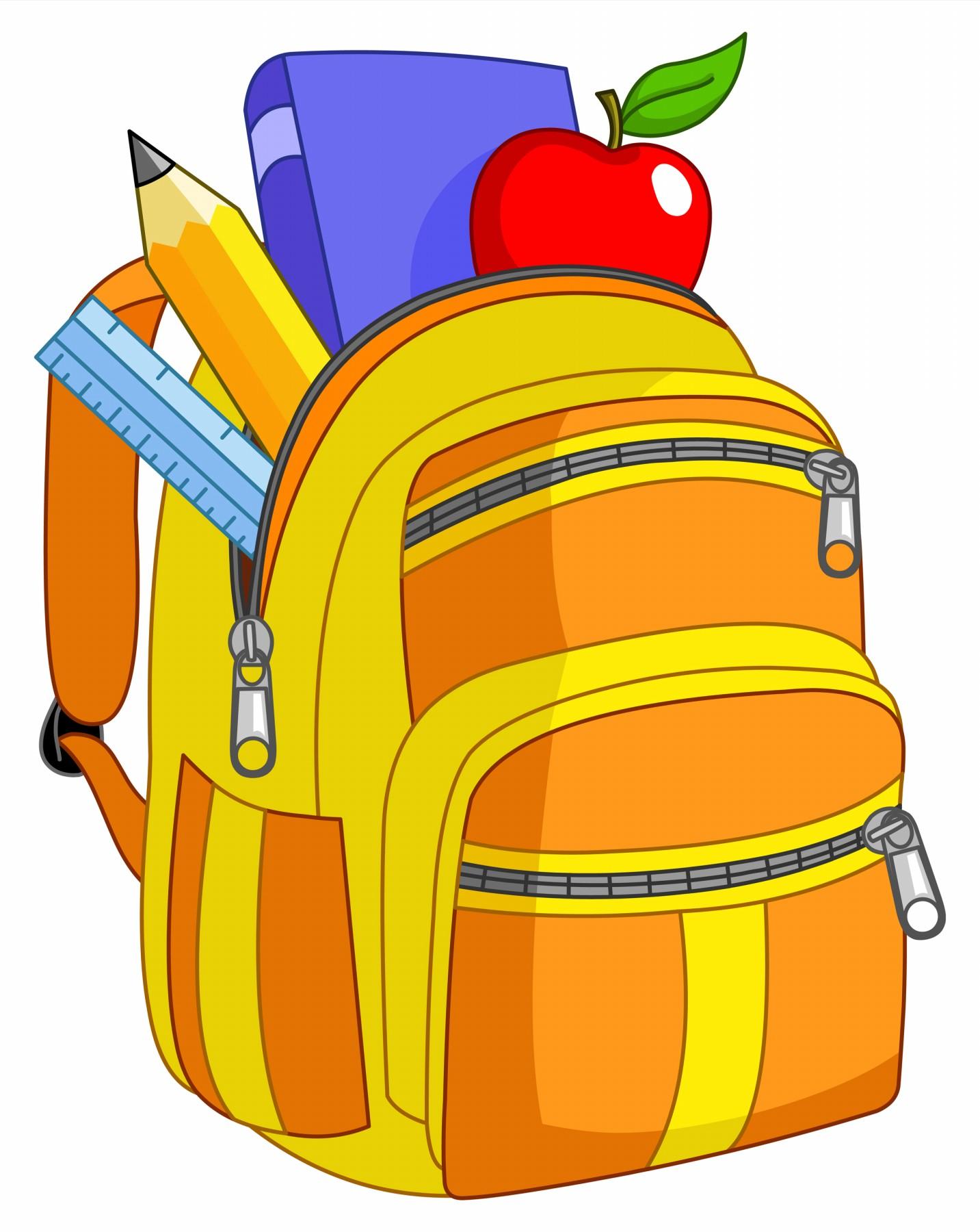 clipart pack bookbag
