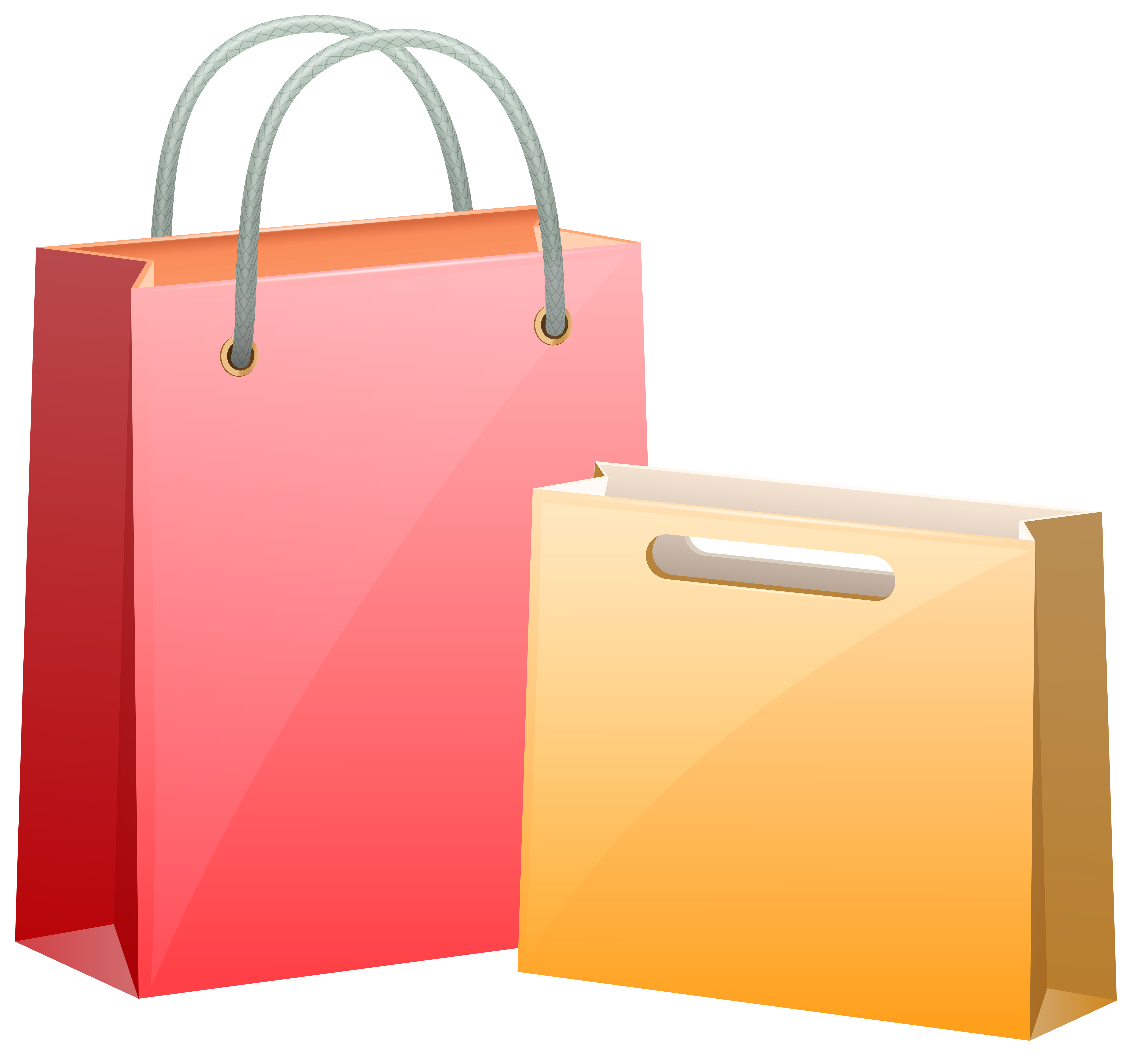 Gift Bags PNG Clip Art