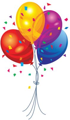 Free Birthday Balloons Cliparts, Download Free Clip Art