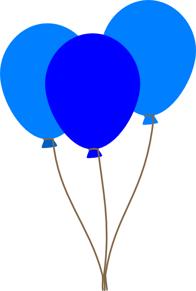 Free Blue Balloon Cliparts, Download Free Clip Art, Free