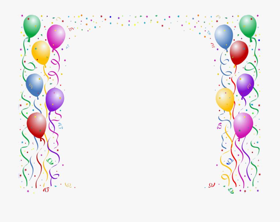 Balloon Clip Art Border