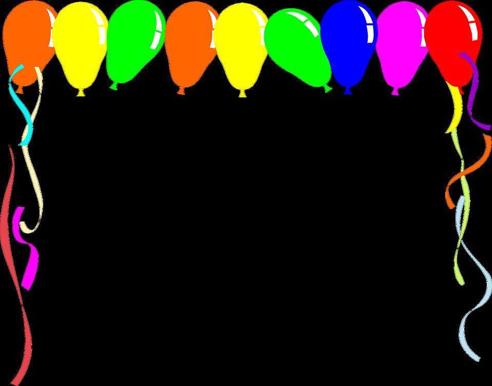 Free Balloon Borders, Download Free Clip Art, Free Clip Art