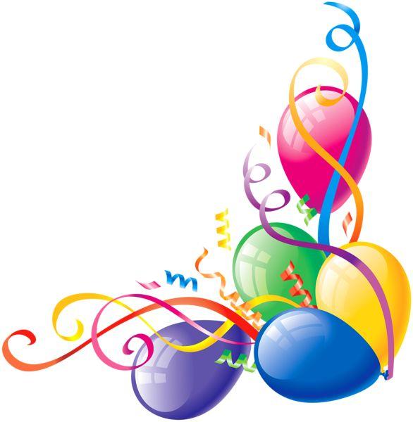 Free Balloons Border, Download Free Clip Art, Free Clip Art