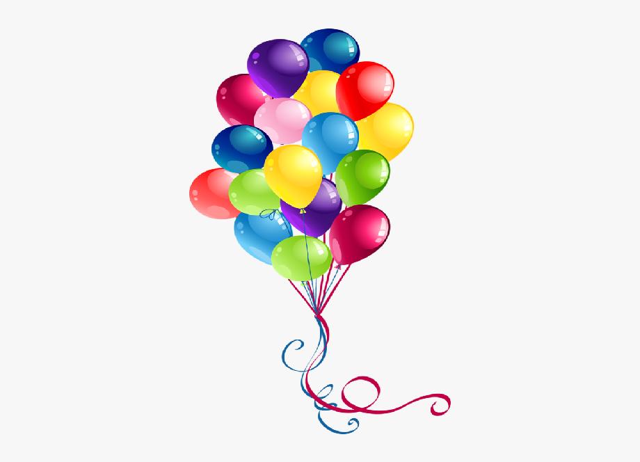 Party balloons cartoon.