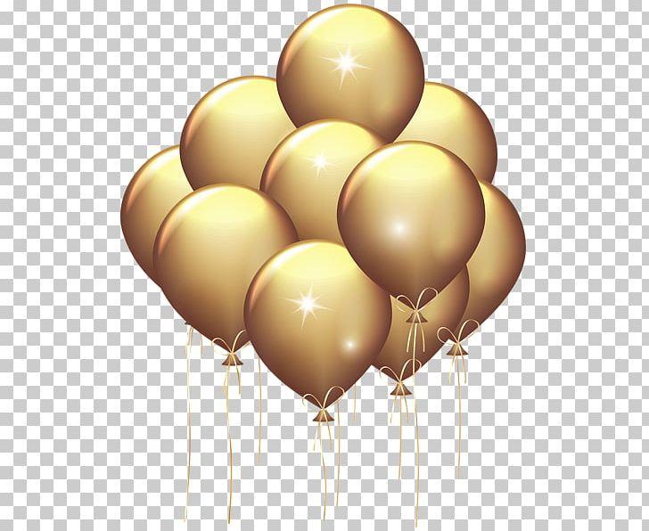Balloon Gold Party PNG, Clipart, Balloon, Balloon Clipart