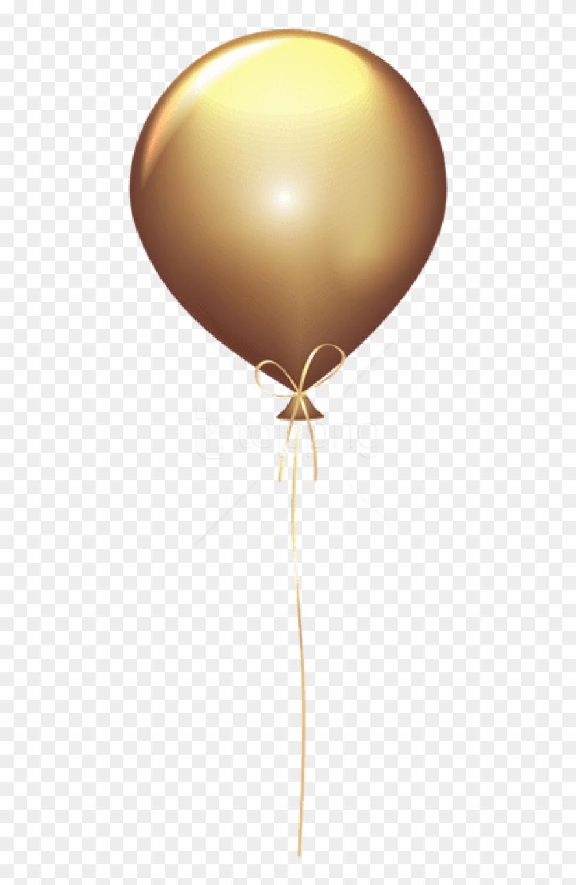 Golden Balloons Png