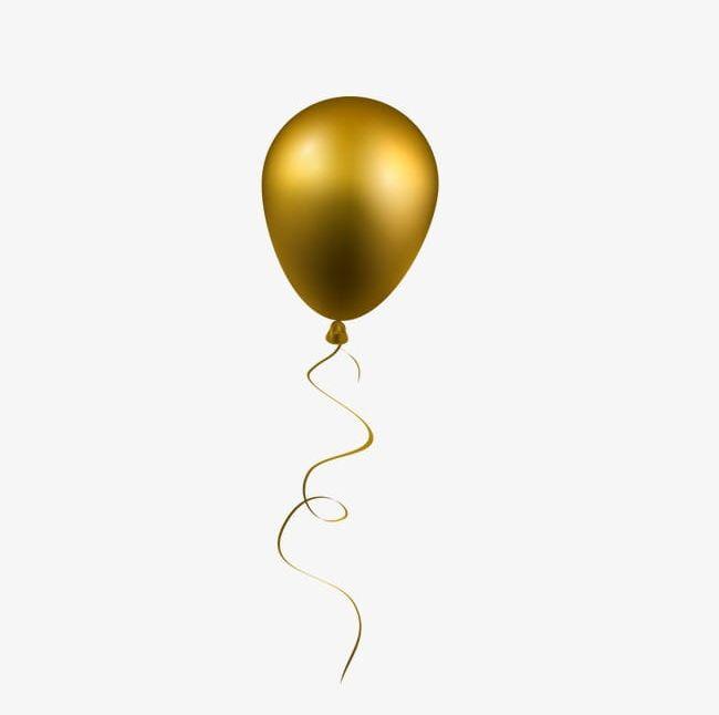 Gold Balloon PNG, Clipart, Balloon, Balloon Clipart, Gold