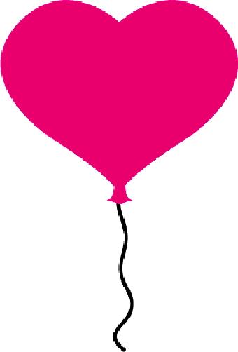 Heart Balloon clip art