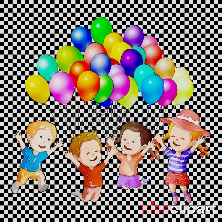 Kids Playing Cartoon clipart