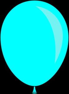 Single balloon clipart