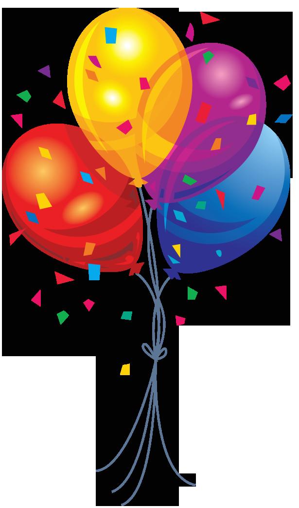 Balloons Clip Art Transparent Background