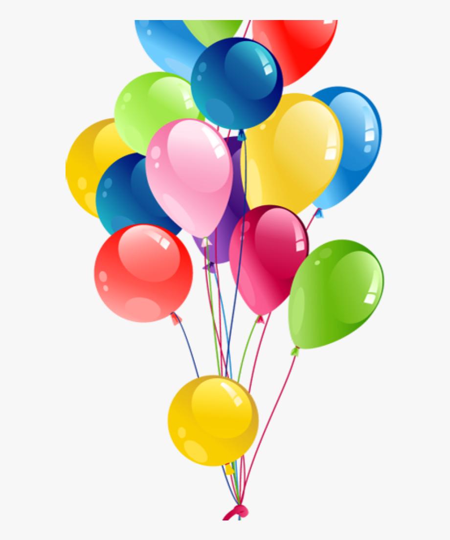 Birthday balloons clipart.