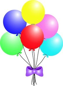 Clip art balloons.