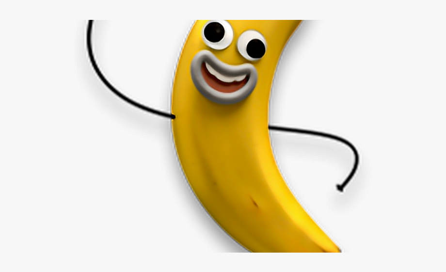 Smiley clipart banana.