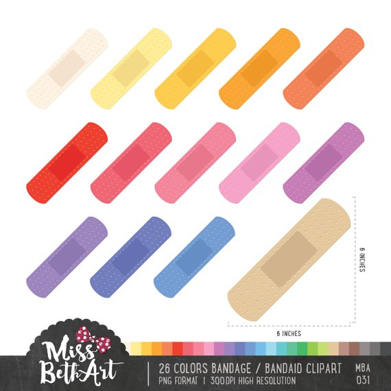 Bandaid clipart colorful pictures on Cliparts Pub 2020!