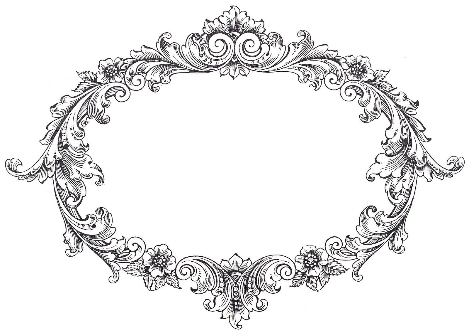 Frame clipart fancy.