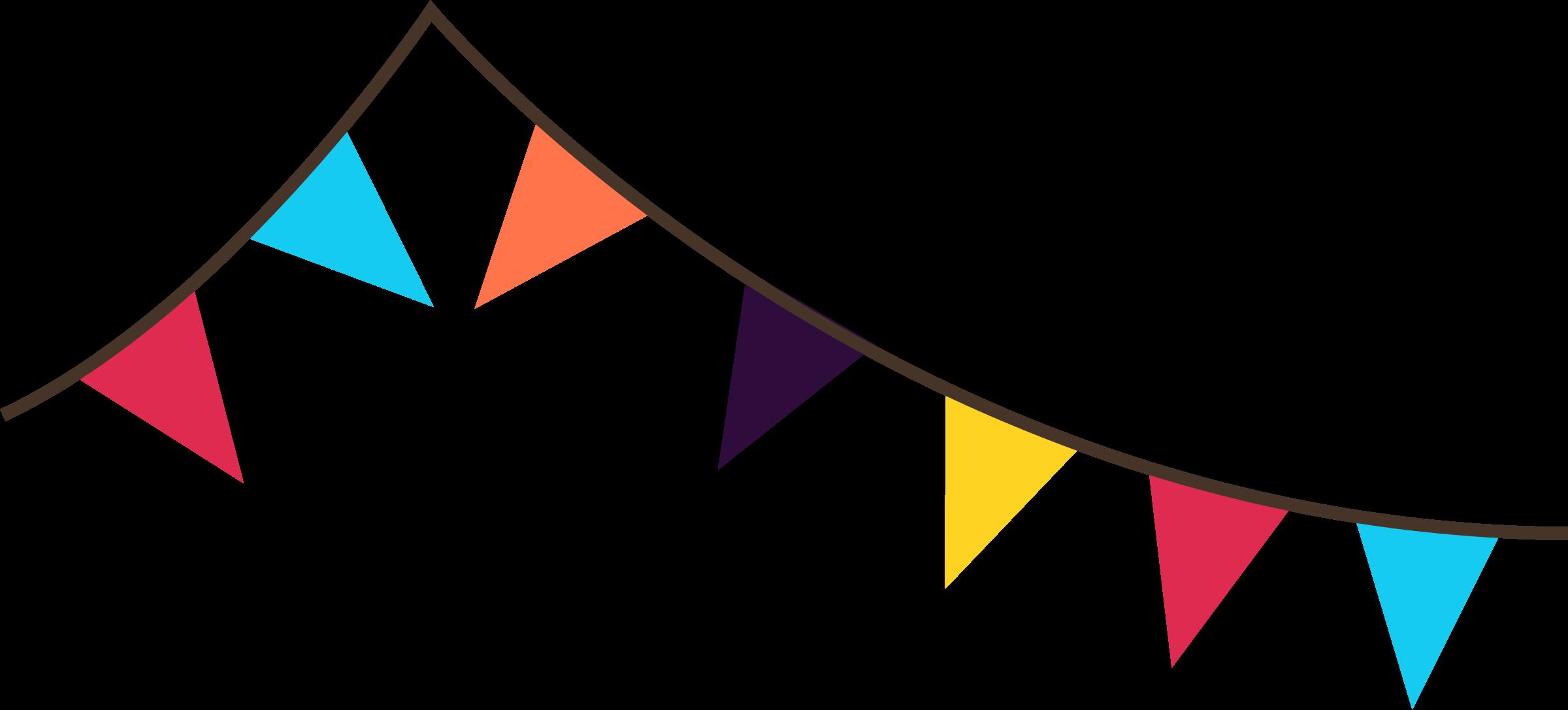 Free pennant banner.
