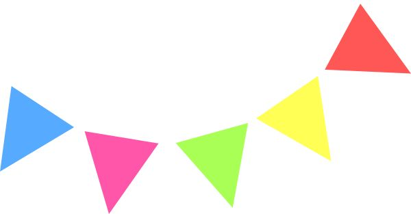 Free pennant cliparts.