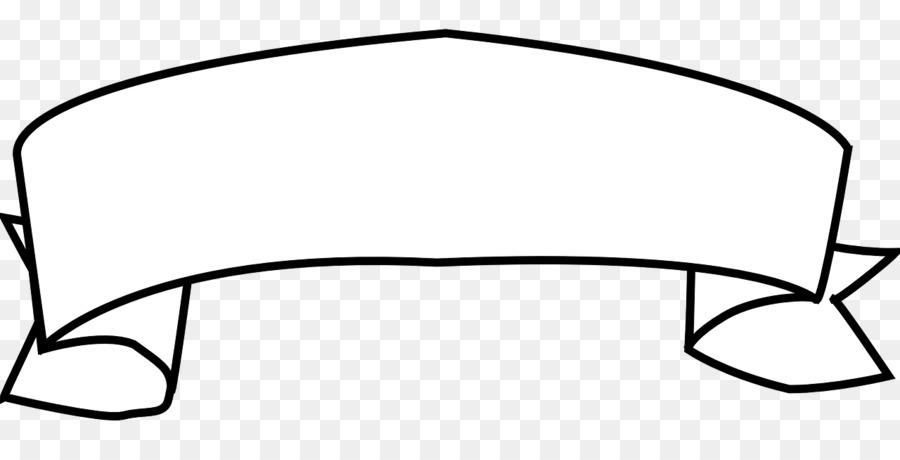 White background ribbon.