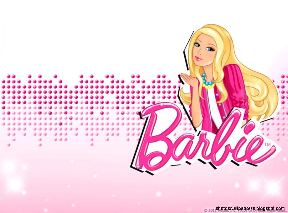 Cartoons barbie wallpaper.