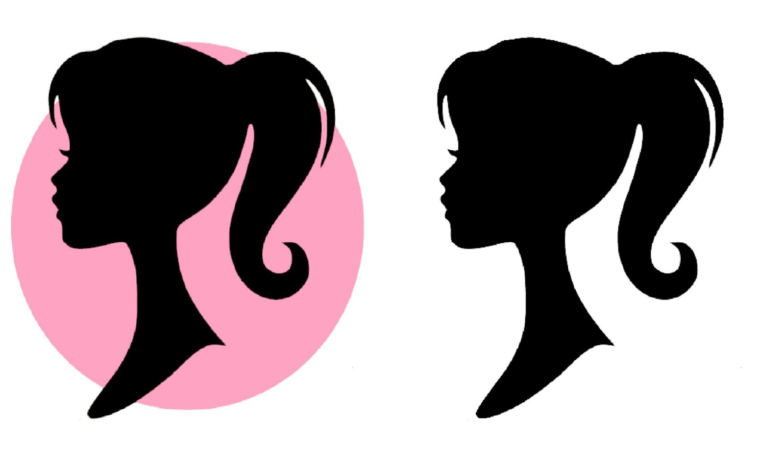 Free barbie silhouette.