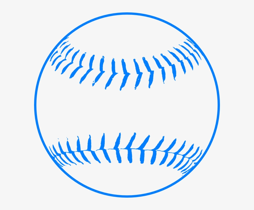 baseball clipart blue