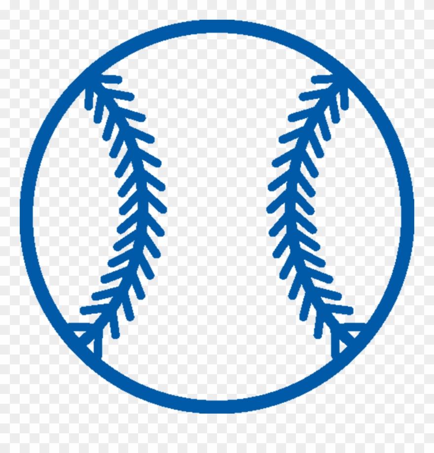Baseball png blue.