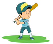 Free play baseball.