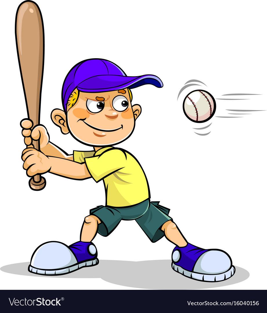baseball clipart boy