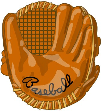 Free baseball glove.