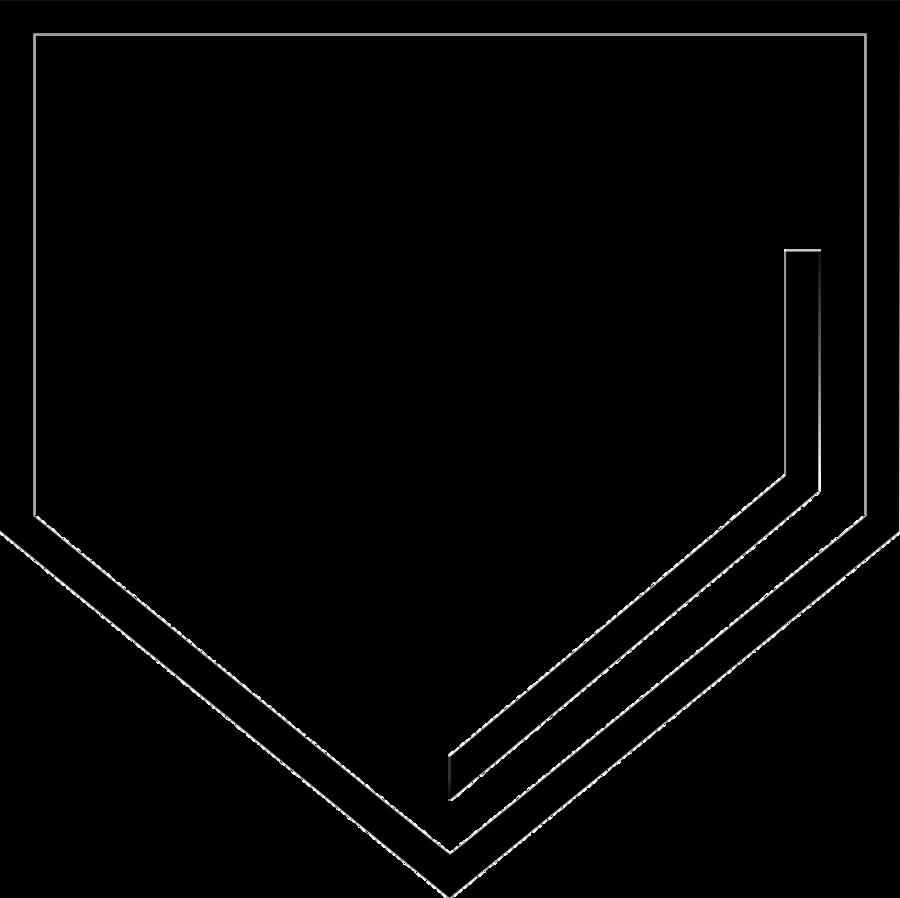 Black triangle clipart.