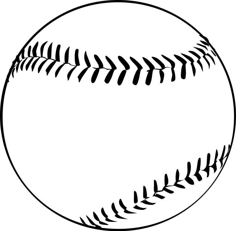 Baseball clipart royalty.