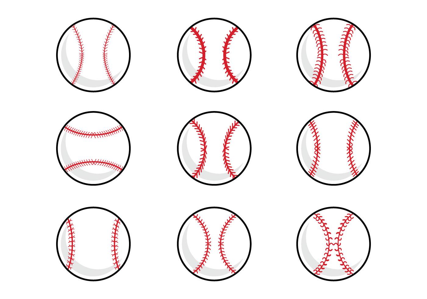 Baseball free vector.
