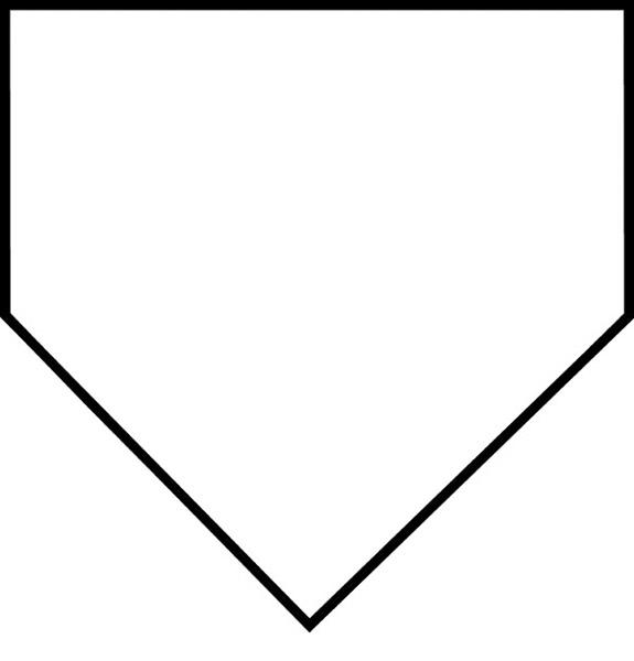 baseball base clipart