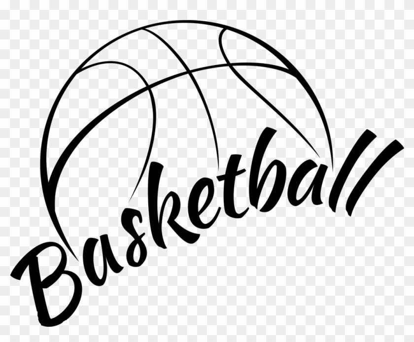 Basketball black and.