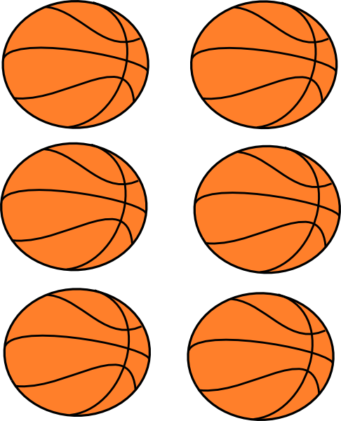 Basketball clipart free.